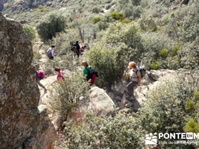 Senda de los Carboneros - La Pedriza - madrid senderismo; club de senderismo; puente pilar